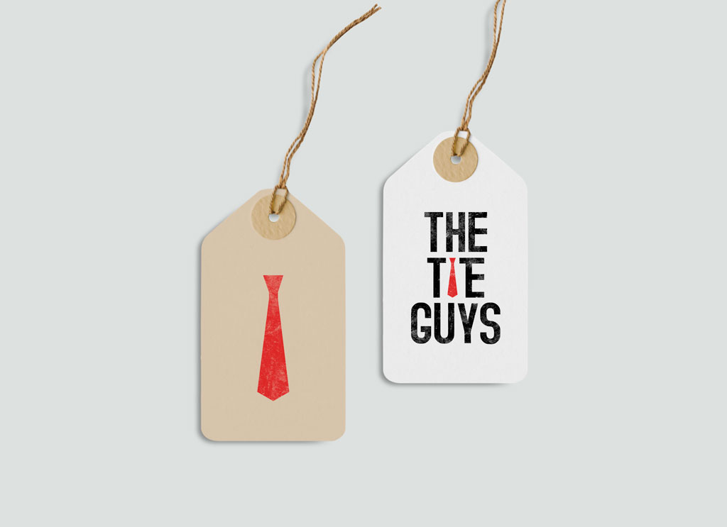 The Tie Guys Logo Design