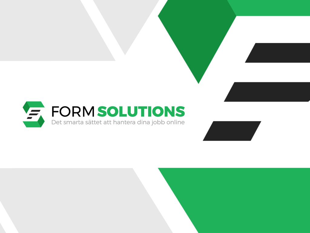 Form Solutions Logo Design